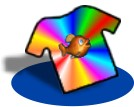 Juju's Amazing Technicolor T-shirt